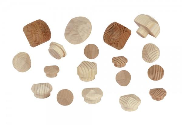 Schraubenabdeckungen aus Holz