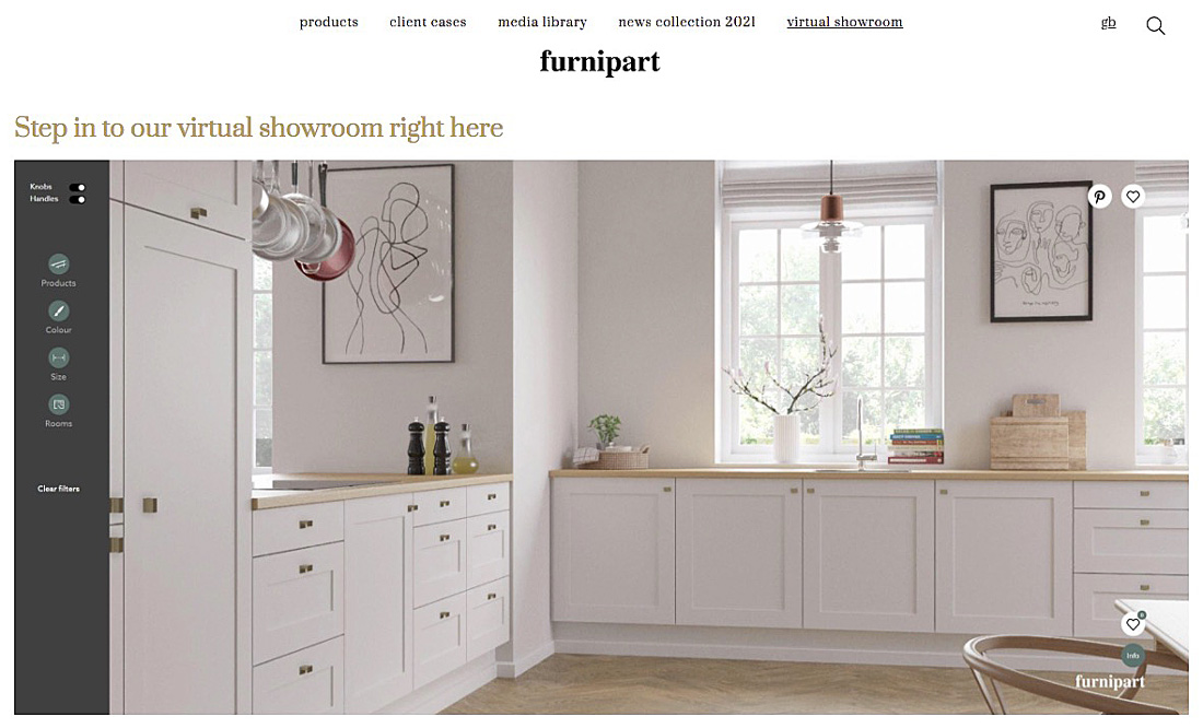 Furnipart Virtualshowroom